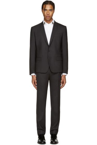 Dolce & Gabbana - Grey Wool Martini Suit