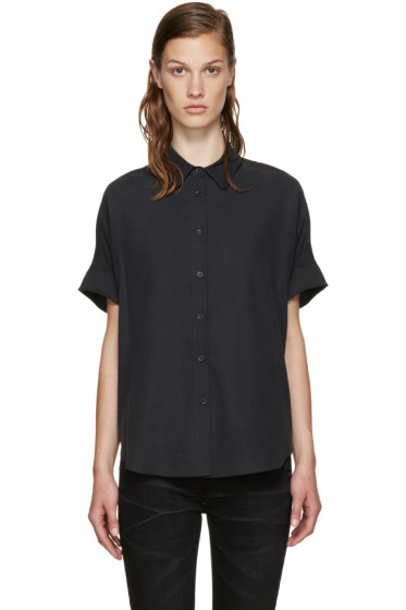 Rag & Bone - Black Silk Blouse