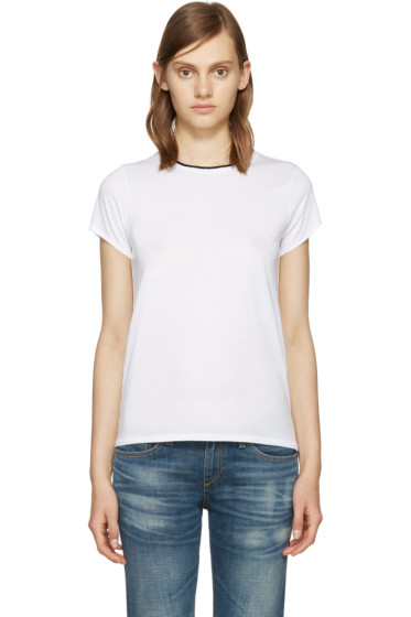 Rag & Bone - White Rib Base T-Shirt