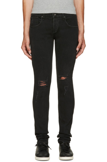 Rag & Bone - Black Standard Issue Jeans