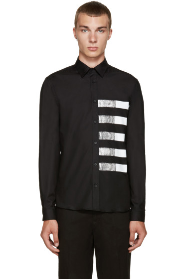 McQ Alexander Mcqueen - Black Googe Shirt