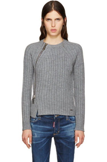 Dsquared2 - Grey Zip Sweater