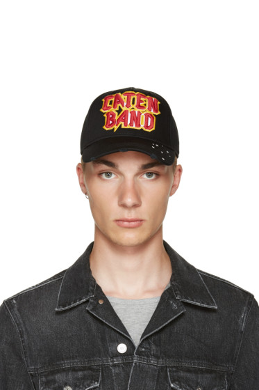 Dsquared2 - Black Caten Band Cap