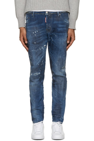 Dsquared2 - Blue Studded M.B. Jeans