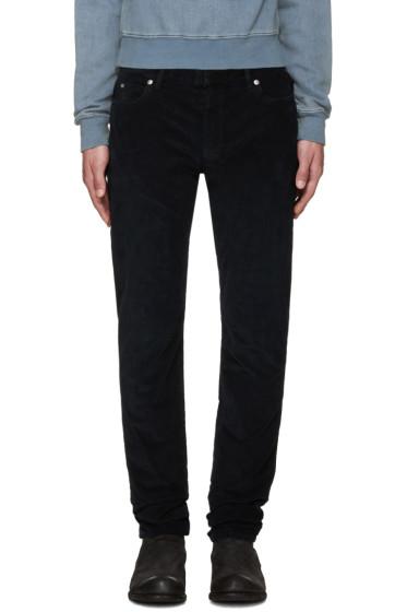 Maison Margiela - Navy Slim Corduroy Trousers