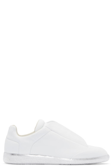 Maison Margiela - White & Silver Future Sneakers