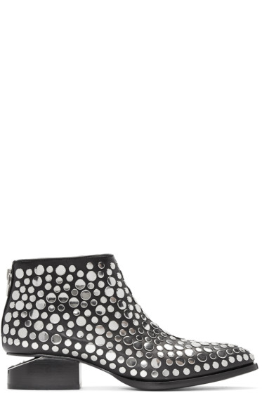 Alexander Wang - Black Studded Kori Boots