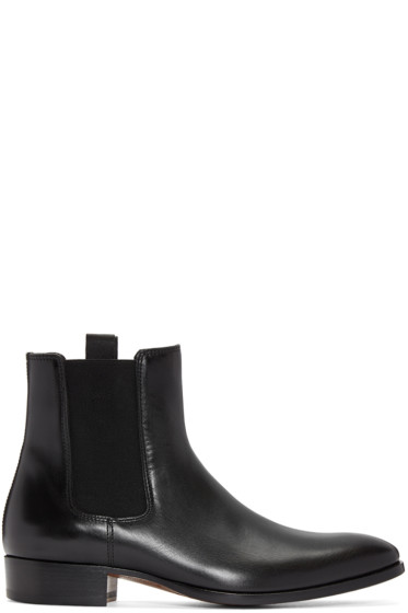 Marc Jacobs - Black Leather Chelsea Boots