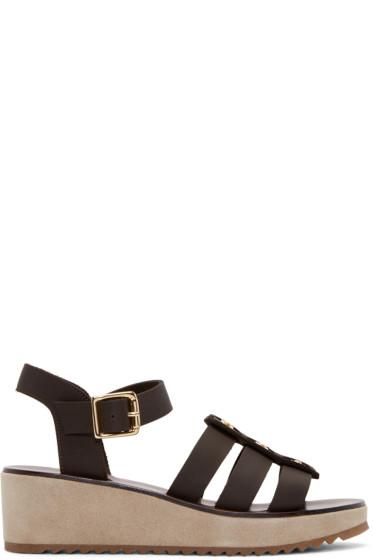 A.P.C. - Brown Vivienne Sandals