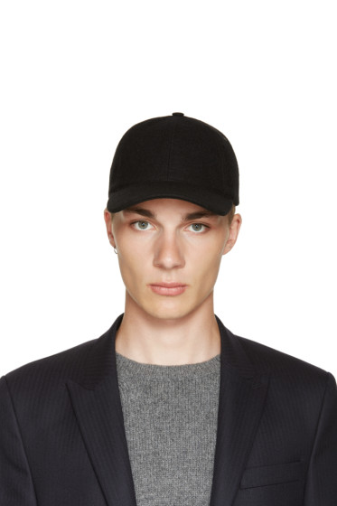 A.P.C. - Black Wool Cap