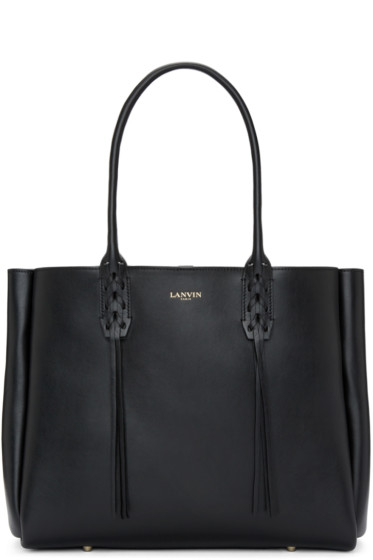 Lanvin - Black Small Shopper Tote