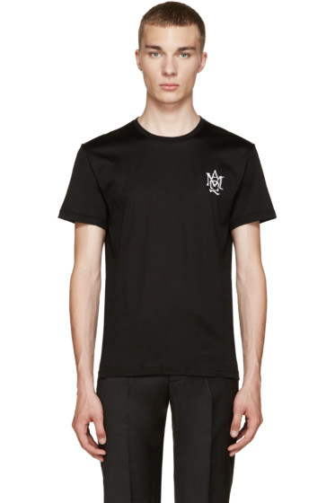 Alexander McQueen - Black Logo T-Shirt