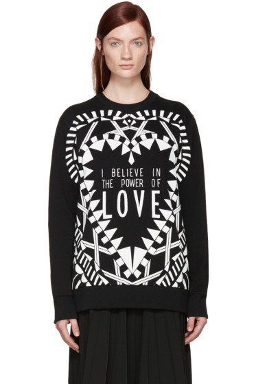 Givenchy - Black 'Power of Love' Sweatshirt