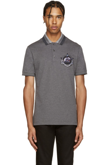 Givenchy - Grey Monkey Brothers Polo