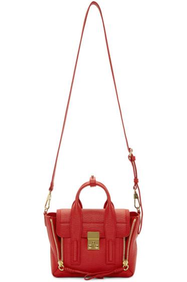 3.1 Phillip Lim - Red Mini Pashli Satchel