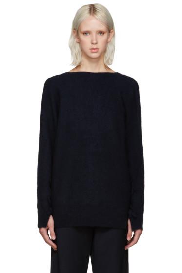 3.1 Phillip Lim - Navy V-Back Sweater