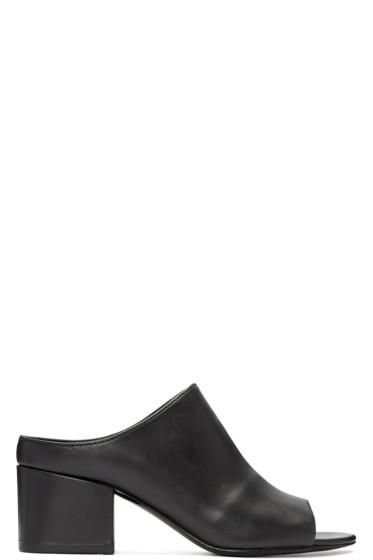 3.1 Phillip Lim - Black Cube Sandals