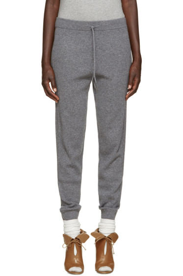 Chloé - Grey Cashmere Lounge Pants