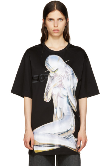 Juun.J - Black Sorayama T-Shirt