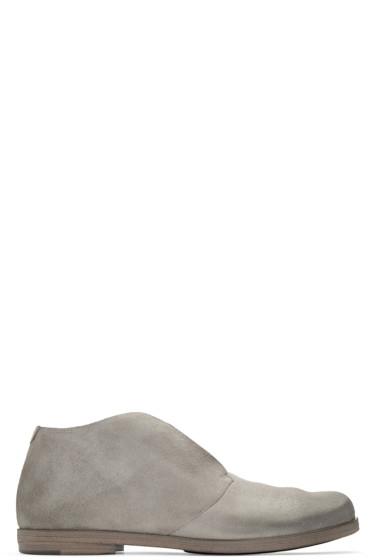 Marsèll - Grey Suede Listello Boots