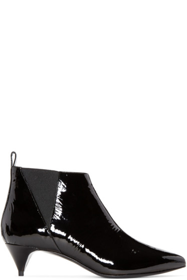 Pierre Hardy - Black Patent Leather Boots