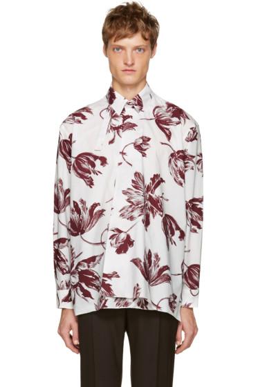 Marni - White Broken Promise Floral Shirt