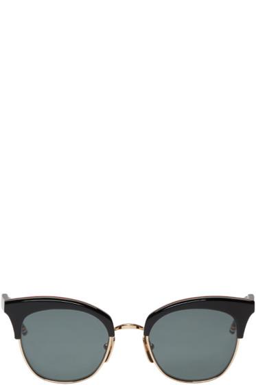 Thom Browne - Black Cat Eye Sunglasses