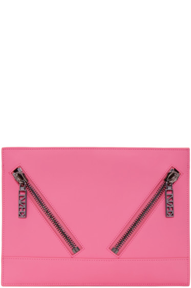 Kenzo - Pink Kalifornia Zip Pouch
