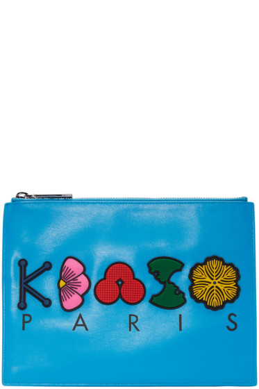 Kenzo - Blue Occasions Zip Pouch