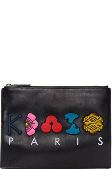 Kenzo - Black Occasions Zip Pouch