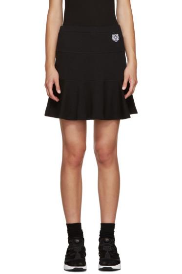 Kenzo - Black Flared Skirt