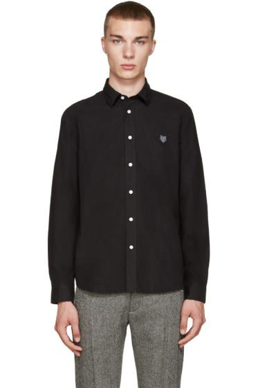 Kenzo - Black Embroidered Tiger Shirt