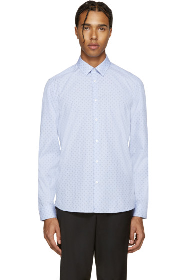 Kenzo - Blue Tanami Print Shirt