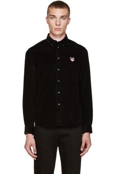 Kenzo - Black Corduroy Shirt