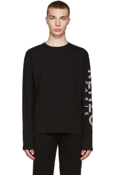 Kenzo - Black Sleeve Logo T-Shirt