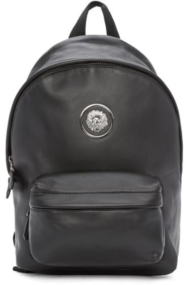Versus - Black Lion Medallion Backpack