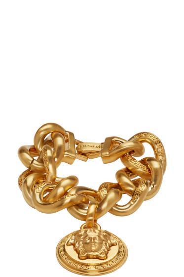 Versace - Gold Medusa Bracelet