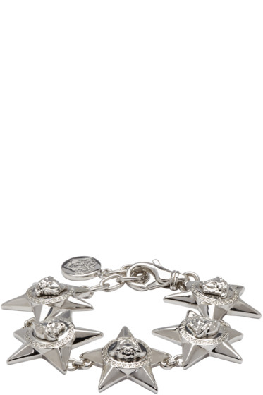 Versace - Silver Medusa Star Bracelet