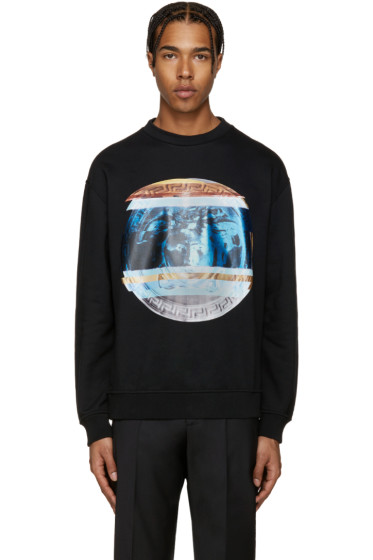 Versace - Black Print Pullover