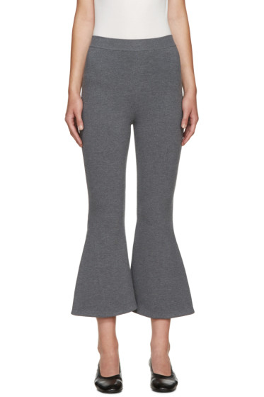 Stella McCartney - Grey Strong Lines Trousers