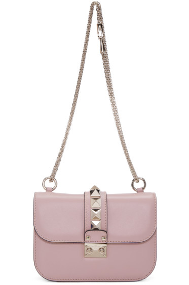 Valentino - Pink Small Lock Bag