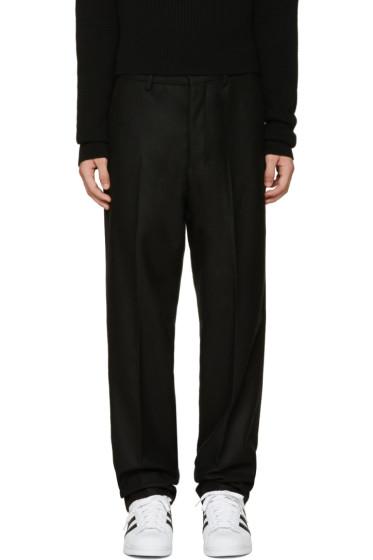 AMI Alexandre Mattiussi - Black Large City Trousers