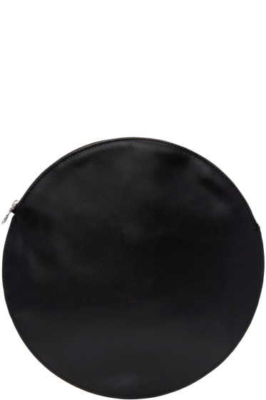 Kara - Black Circle Pouch