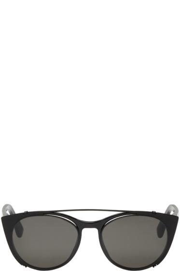 Mykita - Black Clip-On Teresa Sunglasses