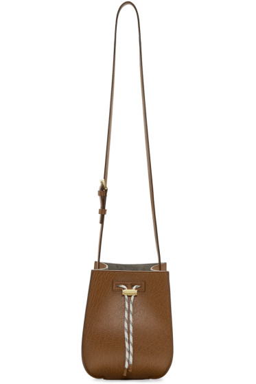 Maiyet - Brown Mini Sia Bucket Bag