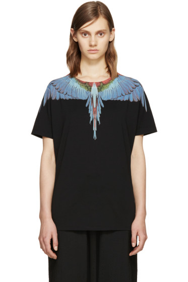 Marcelo Burlon County of Milan - Black Tres Lagos T-Shirt