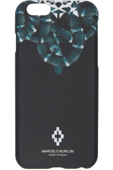 Marcelo Burlon County of Milan - Black Aconcagua iPhone 6 Case