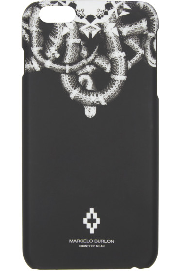 Marcelo Burlon County of Milan - Black Aconcagua iPhone 6/6S Plus Case