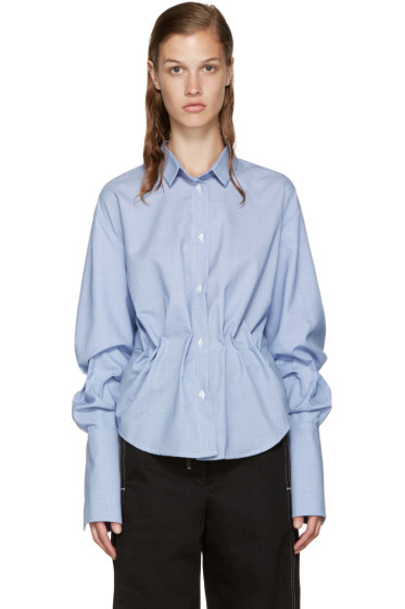 Jacquemus - Blue Gathered Shirt