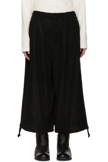 Yohji Yamamoto - Black Balloon Trousers